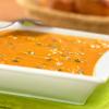 Sopa de verduras de raíz con cúrcuma